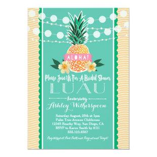 Luau Bridal Shower Invitation