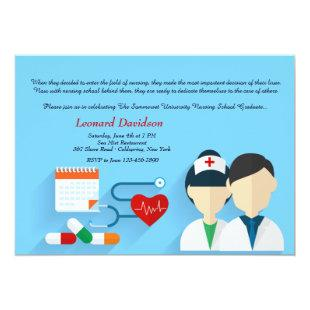Medical Staff Graduation Invitation