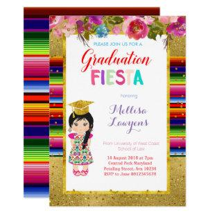 Mexican Graduation Party Fiesta Invitation