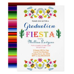 Mexican Law School Graduation Party Invitation