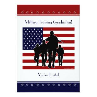 Military Training Graduation Personalized Invite