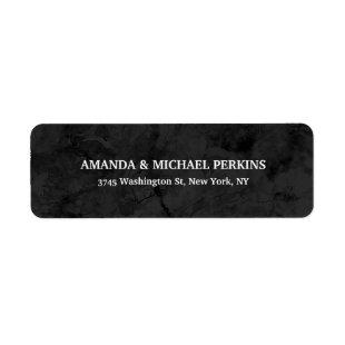 Modern Creative Dark Grey Color Stylish Family Label