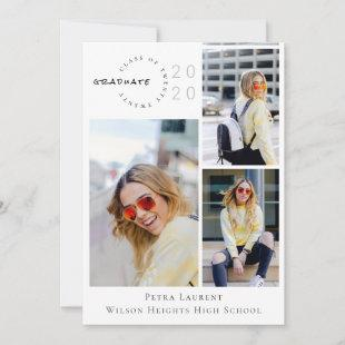 Modern Photo Collage 2020 Graduation Announcement