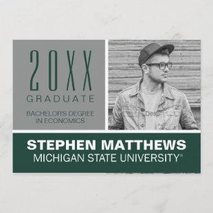MSU Graduation Announcement