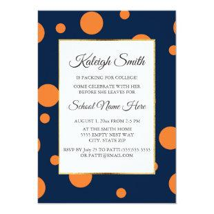 Blue And Gray Trunk Party Invitation Graduation Invitations