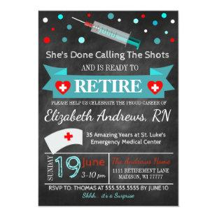 Nurse Graduation Invitation