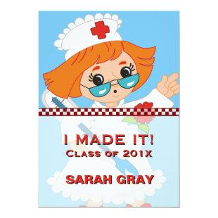 Nurse Graduation | Pinning Ceremony Nursing School Invitation