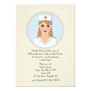 Nurse Medallion Invitation