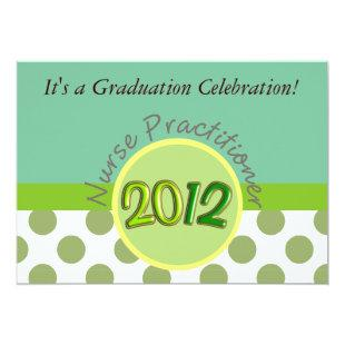 Nurse Practitioner Graduation Invitations