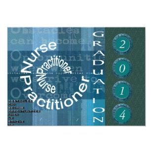 Nurse Practitioner Graduation Invitations II