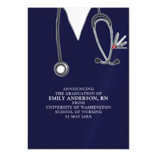 nursing school graduation announcement