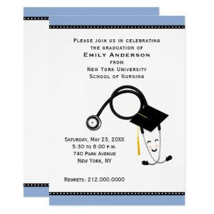 nursing school graduation party invitation