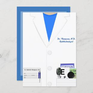 Ophthalmology & Optometry Graduation Party Invite
