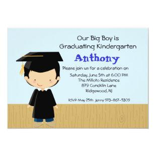 Our Big Boy's  Graduation Invitation