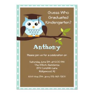 Out On A Limb Kids Graduation Invitation