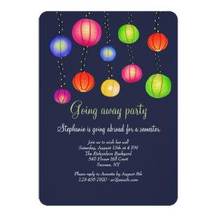 Party Lanterns Invitation