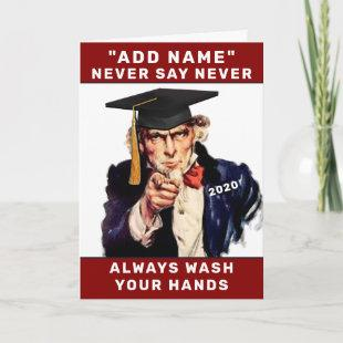 personalized graduation 2021 card
