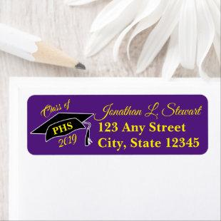Personalized Graduation Return Address Labels