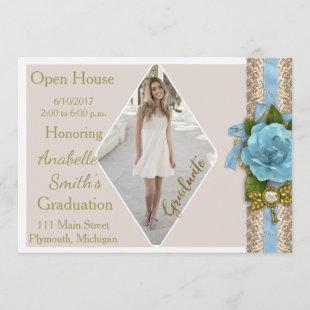 Photo Graduation Open House Invitation