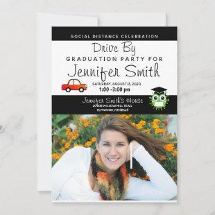 Photo Graduation Party Invitations, Coronavirus Announcement