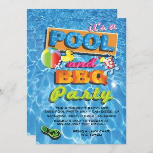 Pool and BBQ Party