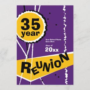 Purple and Gold 35 Year Class Reunion