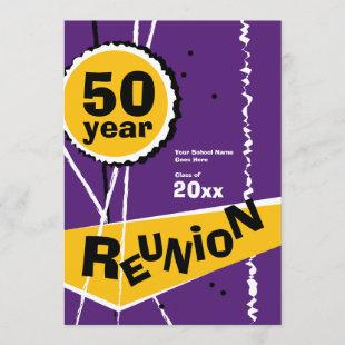 Purple and Gold 50 Year Class Reunion