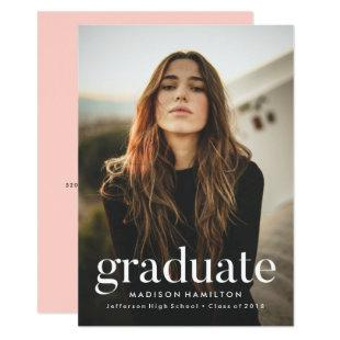 Refined | Photo Graduation Party Invitation