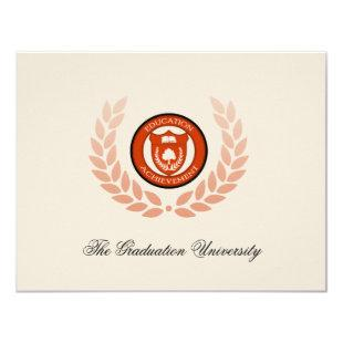 School College University Graduation Announcements