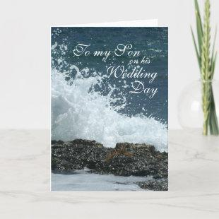 Son Wedding Day Card