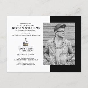 Southern Mississippi Future Graduate Announcement Postcard