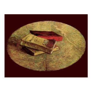 Still Life with Three Books by Vincent van Gogh Postcard
