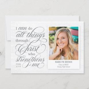Strengthened Graduation Announcement