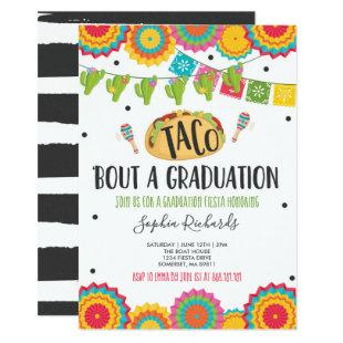 Taco 'Bout A Graduation Fiesta Graduation Party Invitation