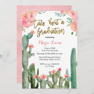 Taco 'bout a Graduation invitation