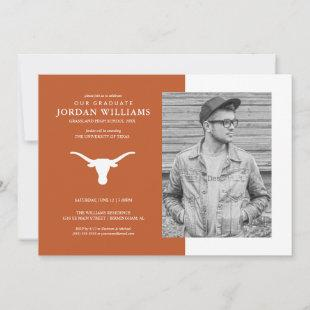 Texas Longhorns Logo| Future Graduate Announcement