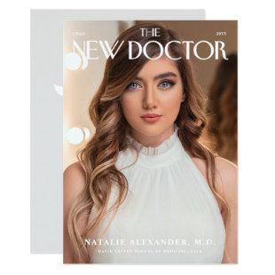 The New Doctor Graduation Announcement