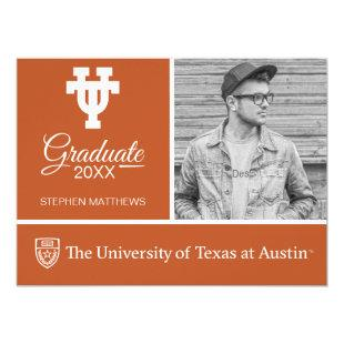 The University of Texas UT Graduate Invitation