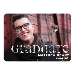 Trendy Graduation Celebration Invitation