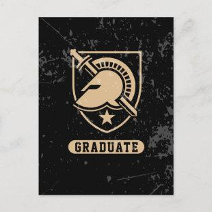 United States Military Academy Distressed Graduate Invitation Postcard