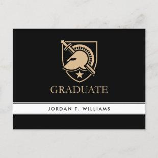 United States Military Academy Graduate Invitation Postcard