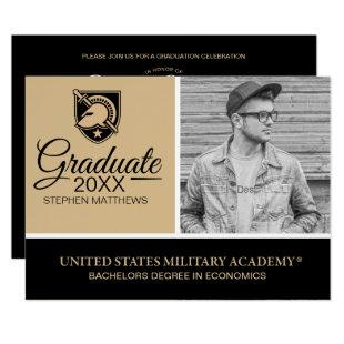 United States Military Academy Logo Invitation