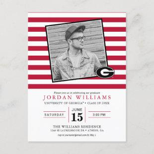 Univeristy of Georgia Graduation Announcement