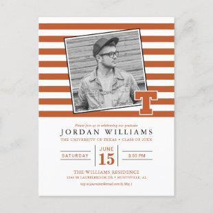 University of Texas Graduation Announcement Postcard