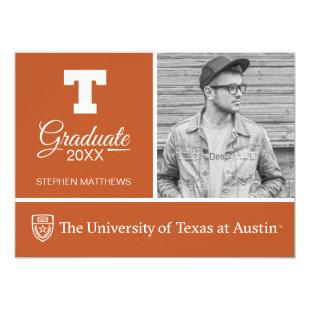 University of Texas | Graduation Invitation