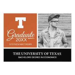 University of Texas Graduation Invitation