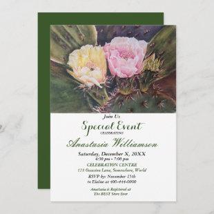 WE BECOME TWO PARTY EVENT INVITE