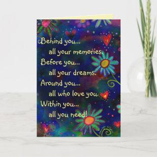 'Within you all you Need' Inspirational Graduation Card